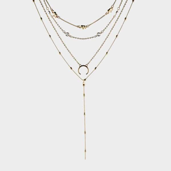 Ce collier réunit l'élégance, et la sobriété